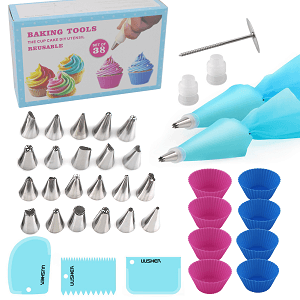 Complete Cake Decorating Supplies for Beginner to Finish Your Own Cake
